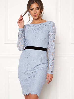 Moments New York Romy Lace Dress Grey-blue