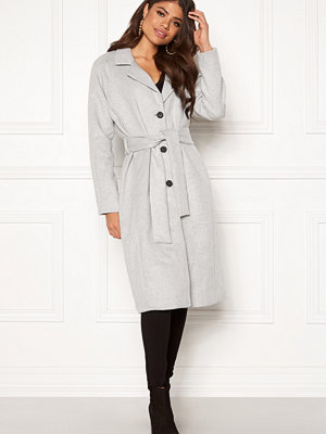 Object Lena Coat Light Grey Melange