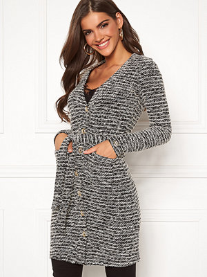 Chiara Forthi Maddalena knitted long coat dress