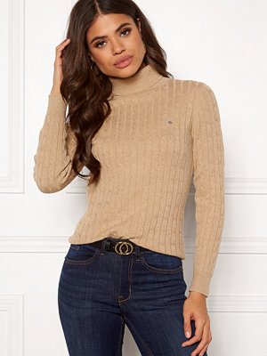 Gant Stretch Cotton Cable Turtle Neck