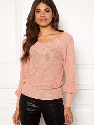 Tröjor - Object Landaz L/S Knit Pullover