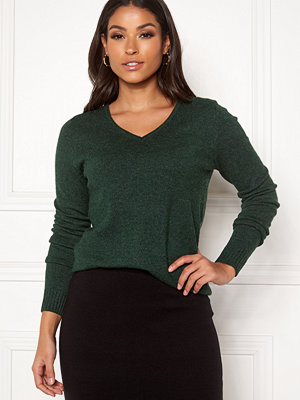 Vila Ril L/S V-neck Knit Top