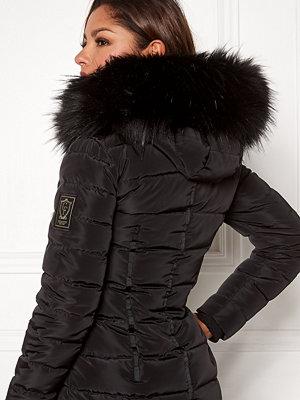Chiara Forthi Chiara Faux Fur Collar Black