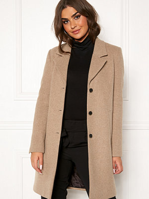 Selected Femme Sasja Wool Coat Amphora/Melange