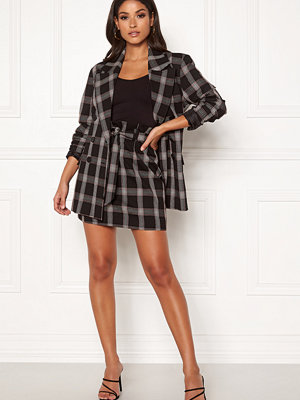 Ivyrevel Check High Belted Skirt