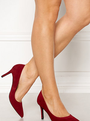 Bianco Cait Basic Suede Pumps Wine