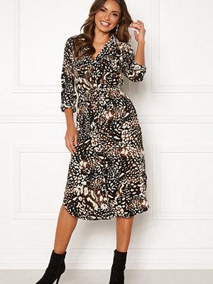 Pieces Isolde LS Midi Dress