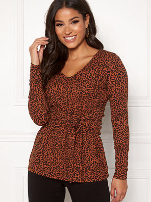 Happy Holly Lori top Leopard / Patterned