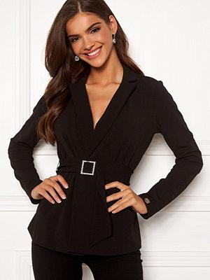 Kavajer & kostymer - Chiara Forthi Gloria rhinstone buckle jacket