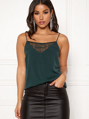Make Way Stella lace singlet Green
