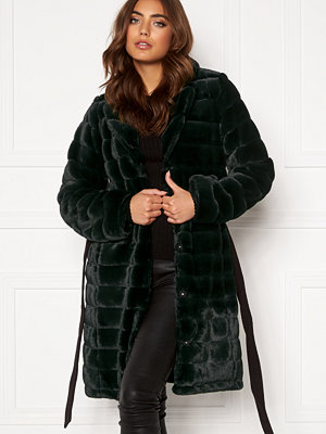 Dry Lake Mini Bubble Faux Fur Coat