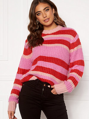 Pieces Hue LS O-Neck Knit