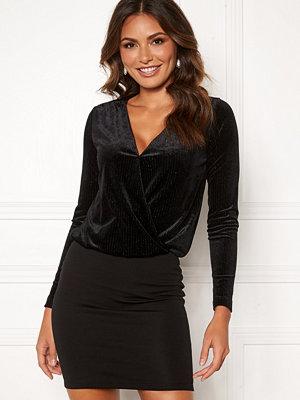 Happy Holly Angela velvet dress