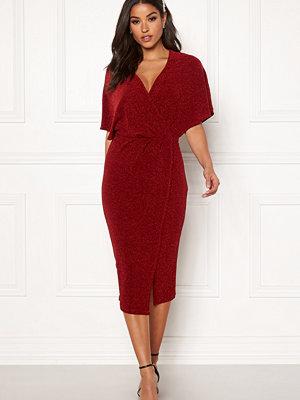 Bubbleroom Selena sparkling dress Red / Red
