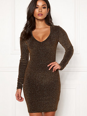 Bubbleroom Nemi sparkling dress Black / Gold
