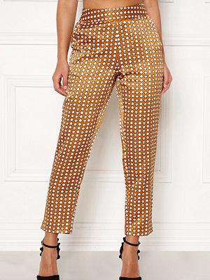 Happy Holly mönstrade byxor Athena pants Cinnamon / Patterned