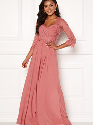 Chiara Forthi Nathalia Maxi Dress Dark pink