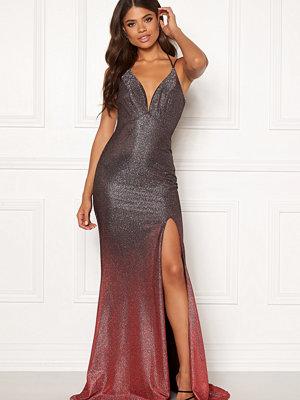 Christian Koehlert Dream Glitter Dress Glitter Grey & Red