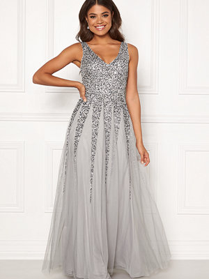 Goddiva Sunray Sequin Maxi Dress