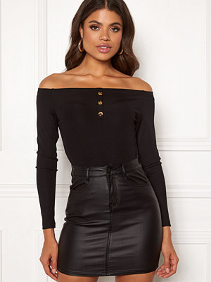 Bodys & set - Ivyrevel Off Shoulder Rib Body