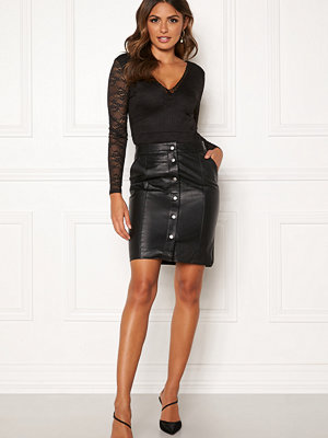 Object Nima HW Leather Skirt