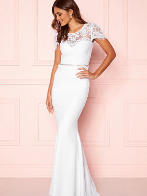 Goddiva Cap Sleeve Wedding Dress