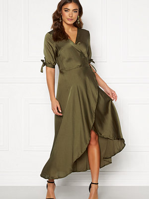 Ax Paris Wrap Front Tie Dress
