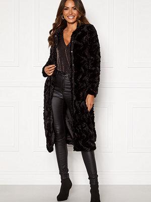 Vero Moda Curl Long Faux Fur Jacket