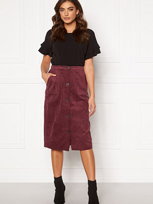 Vila Josy Button HW Skirt