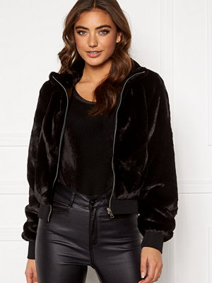 Only Aura Faux Fur Bomber