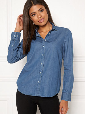 Skjortor - Gant Luxury Chambray Shirt
