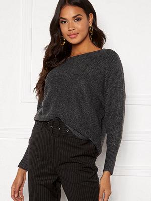 Only Daniella L/S Pullover Dark grey Melange