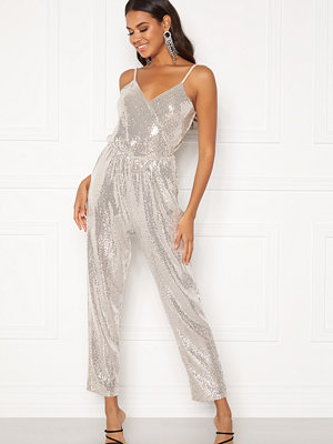 Jumpsuits & playsuits - John Zack Strappy Sequin Jumpsuit