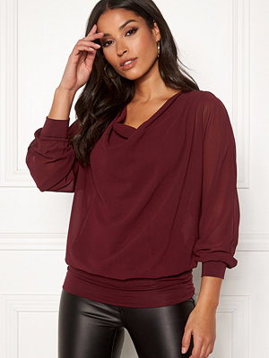 Toppar - Happy Holly Lisa drapy blouse