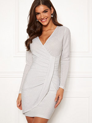 Chiara Forthi Elena sparkling wrap dress
