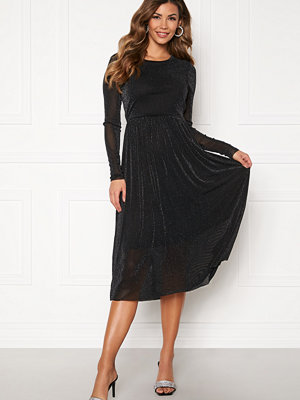 Y.a.s Jessa LS Lurex Midi Dress