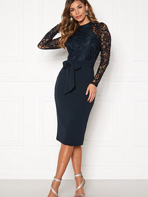 Girl In Mind Abbey Hi neck Midi Dress