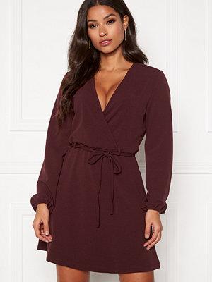 Jacqueline de Yong Lauren L/S Belt Dress