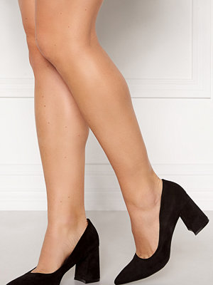Francesco Milano Block Heel Pump