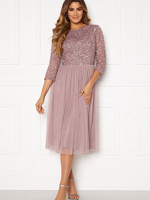 Angeleye Sequin Bodice Mid Dress