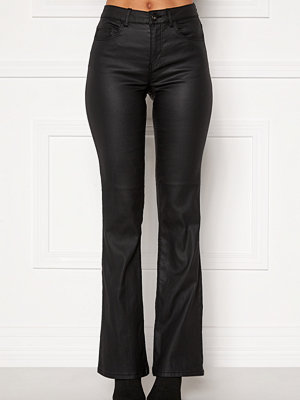 Pieces Ivy Flared Coated Pants