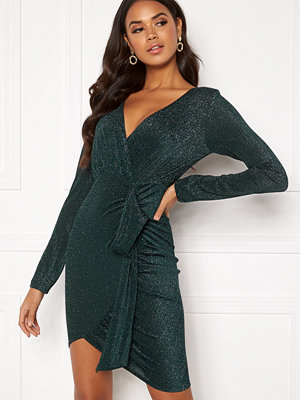 Ax Paris Wrap Front Mini Dress