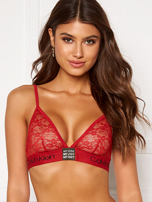 Calvin Klein Unlined Lace Triangle Bra