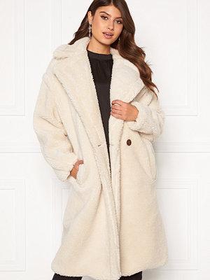 Blue Vanilla Oversized Teddy Coat