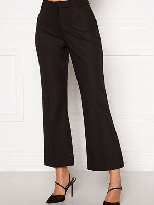 Selected Femme svarta byxor Ada Cropped Flared Pant