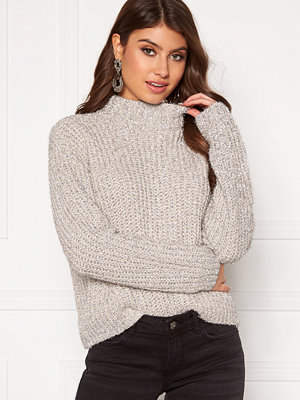 Pieces Jenny LS High Neck Knit