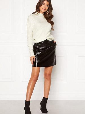 Kjolar - Only Bella Faux Leather Skirt