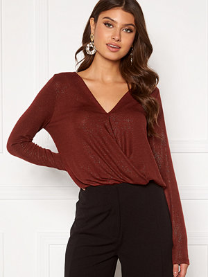 Vero Moda Honey Glitter Wrap Top