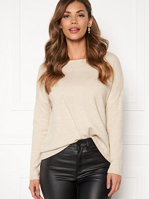 Only Brenda L/S Pullover Pumice Stone, Melang