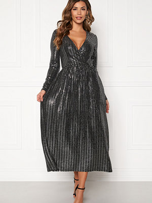Only Rebecca L/S Glitter Dress